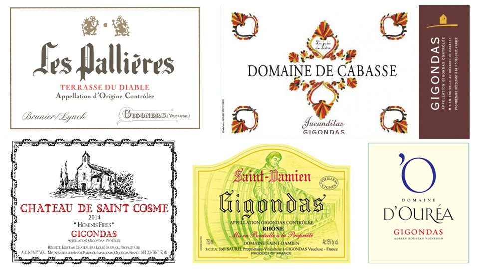 Wine labels collage cover
