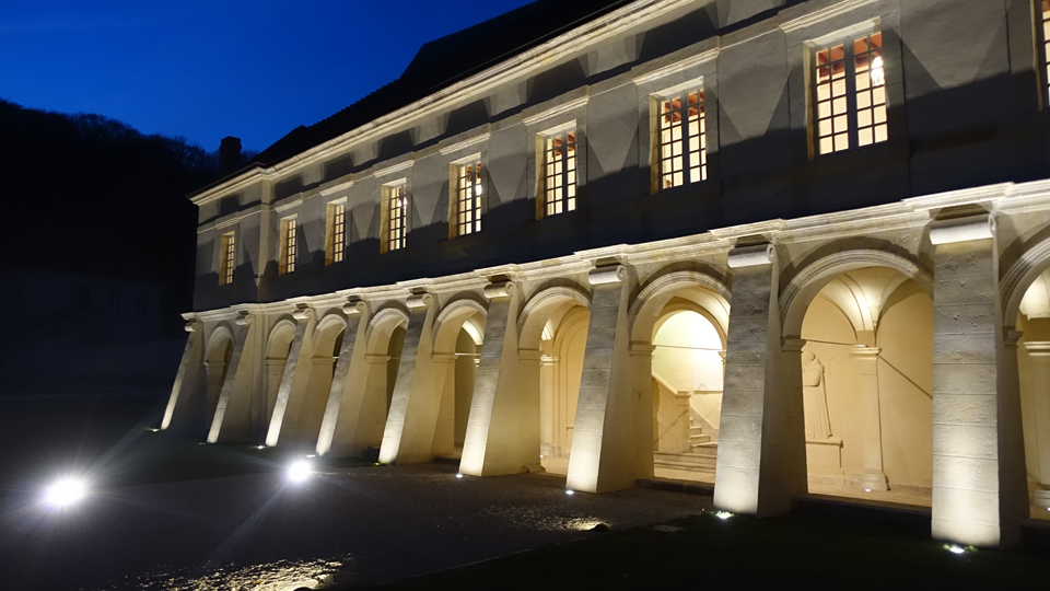 Dom perignon abbey building copy