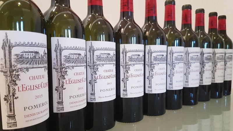 Eglise clinet bottle lineup