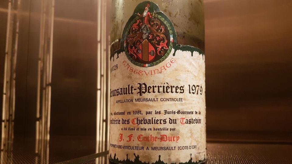 Meursault perrieres 1979 coche dury bottle