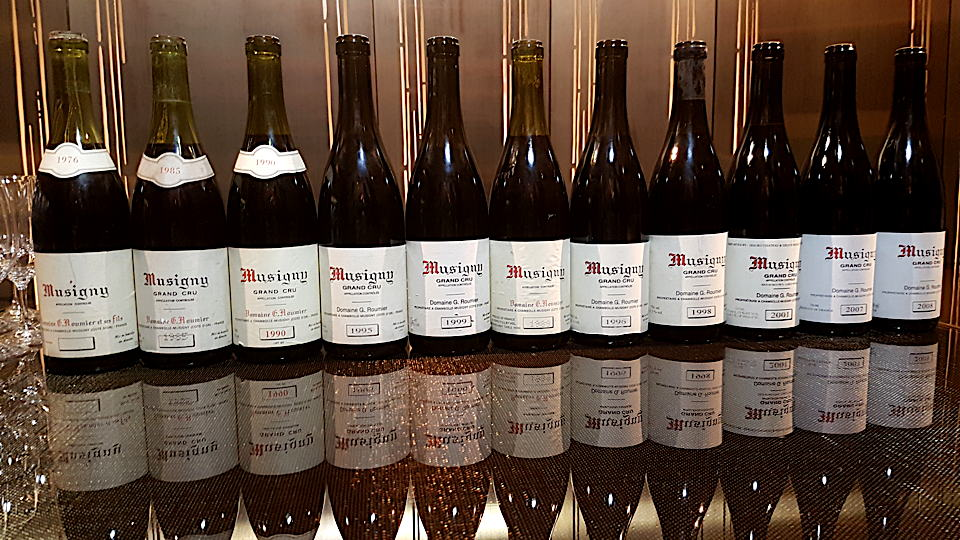 Musigny line up bottles2