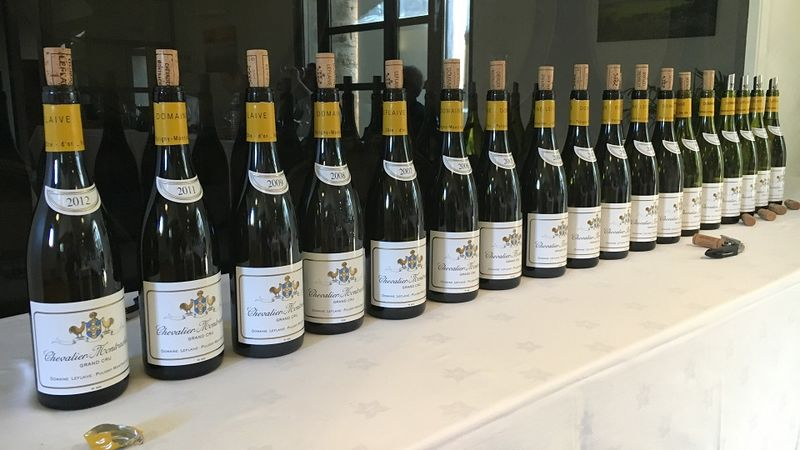 A rare vertical tasting of domaine leflaive%e2%80%99s chevalier montrachet copy