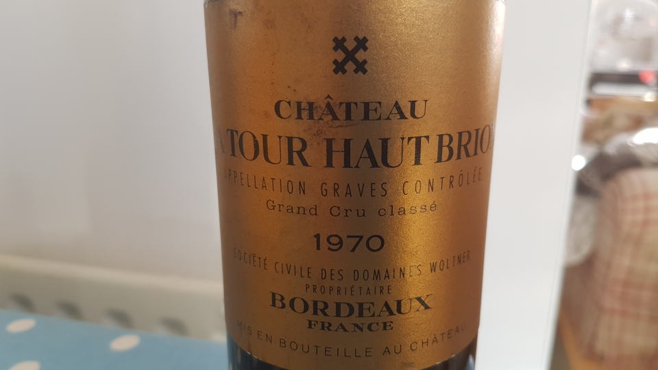 La tour haut brion 1970