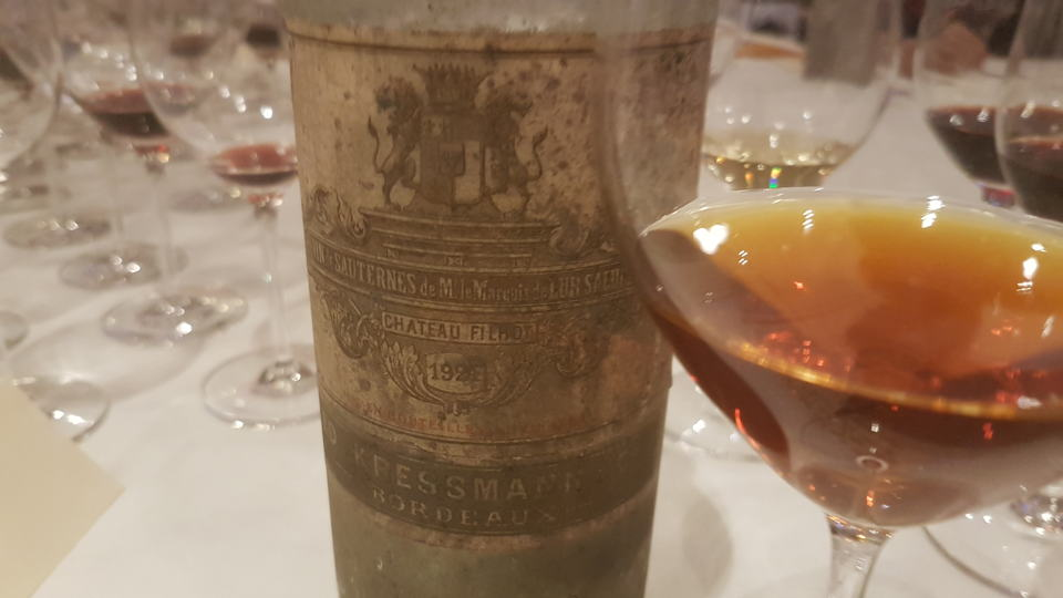 Filhot 1924 bottle