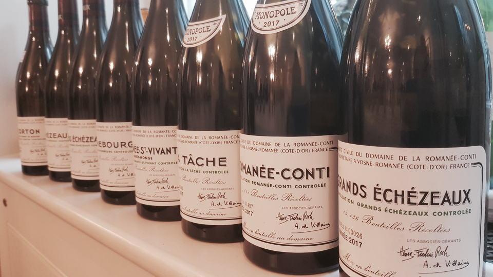 Drc 2017 bottle line up