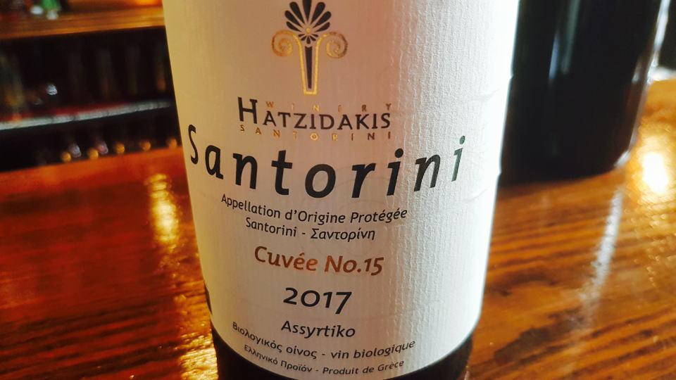 Hatzidakis cuvee 15
