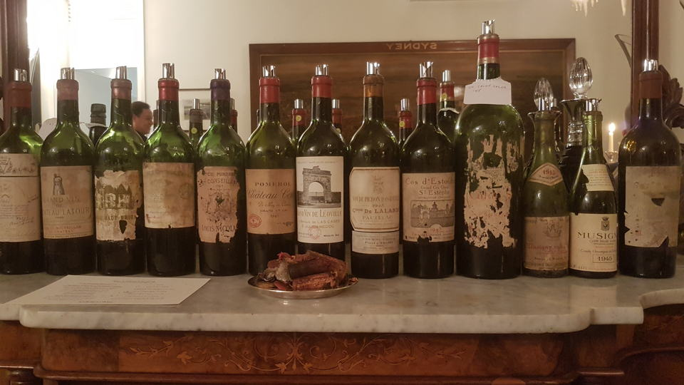 Bordeaux 1945 line up