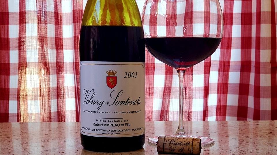 Cellar favorite robert ampeau santenots 2001 cover