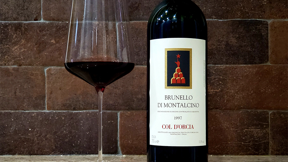 Cellar favorite col d%e2%80%99orcia brunello di montalcino 1997 copy