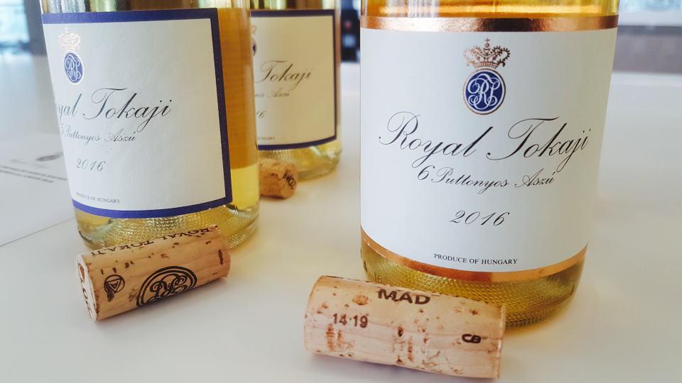 Royal tokaji bottles