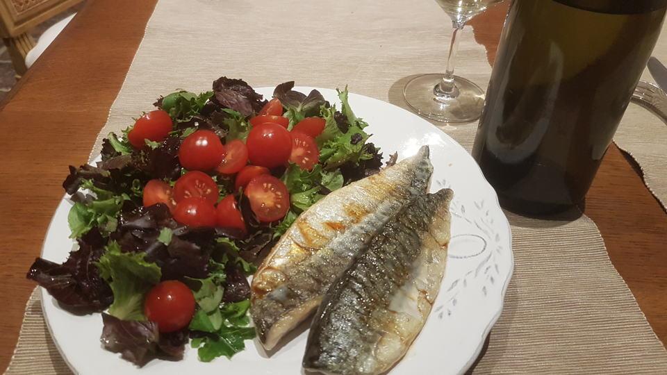 Comtes lafon mackerel