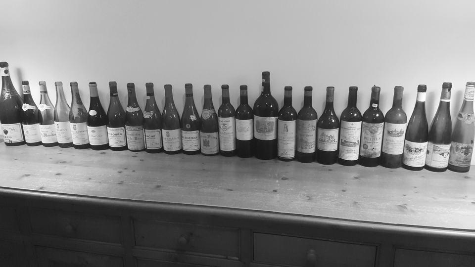Burgundy line up 1959