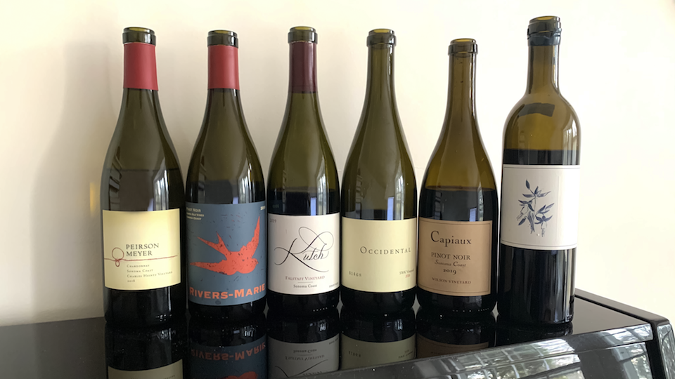 Sonoma 2021 bottles
