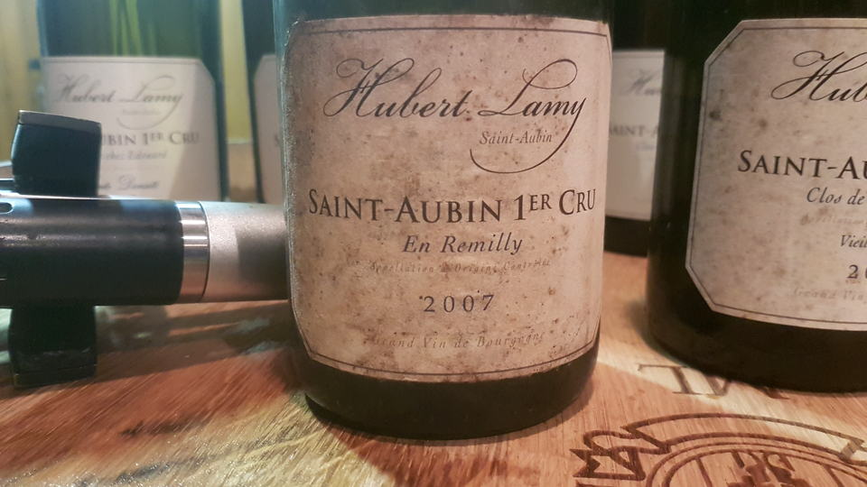 Saint aubin 2007 lamy cellar favorite january252021