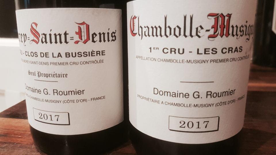 2017 roumier bottles