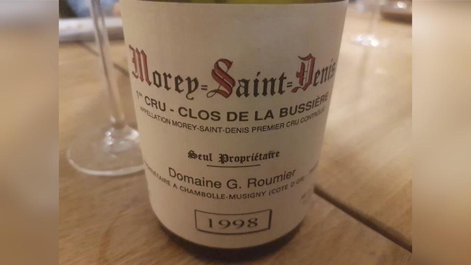Morey saint denis 1998 roumier copy