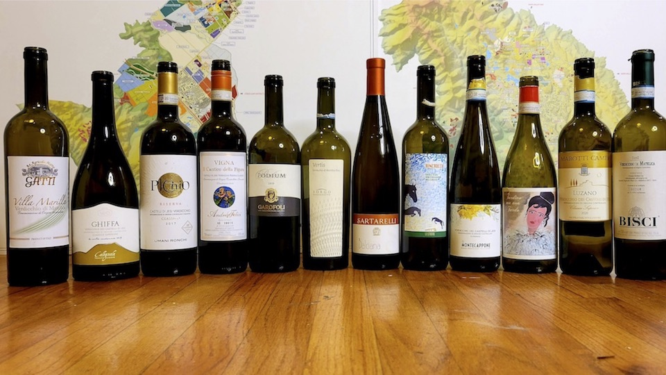 Cover a stunning display of new vintages from verdicchio copy