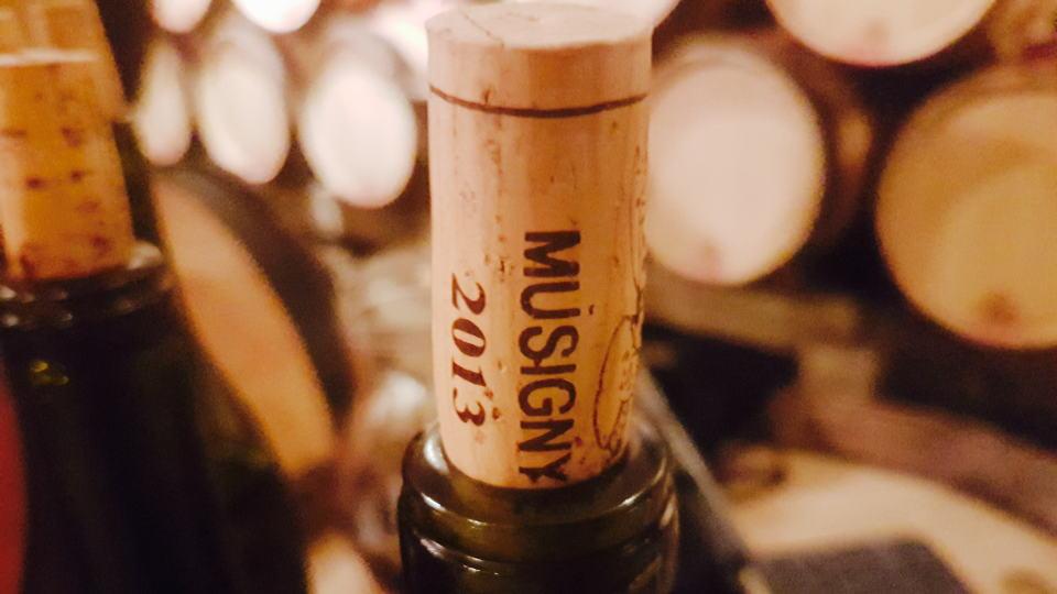 Musigny mugnier 2013 cork