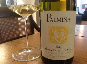 2013 Palmina Malvasia Bianca ($26) 90 points
