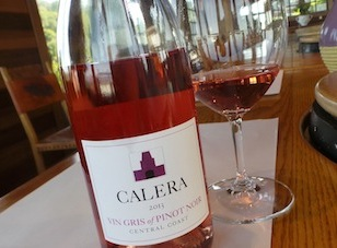 2013 Calera Vin Gris of Pinot Noir ($19) 90 points