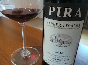 2012 Luigi Pira Barbera d'Alba ($26) 90 points