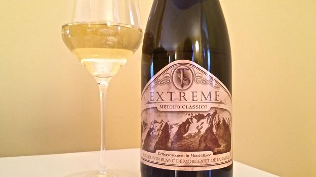 2011 Morgex et de la Salle Metodo Classico Extreme Brut ($26) 90 points