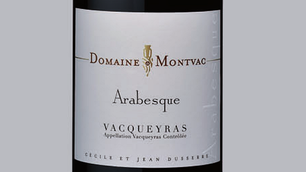 2012 Domaine de Montvac Vacqueyras Arabesque ($20) 92 points