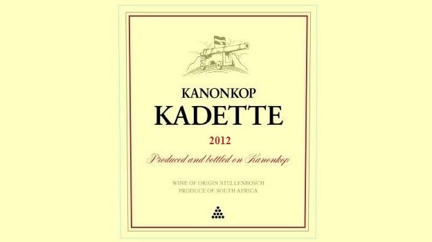 2012 Kanonkop Kadette Cape Blend Stellenbosch ($15) 89 points