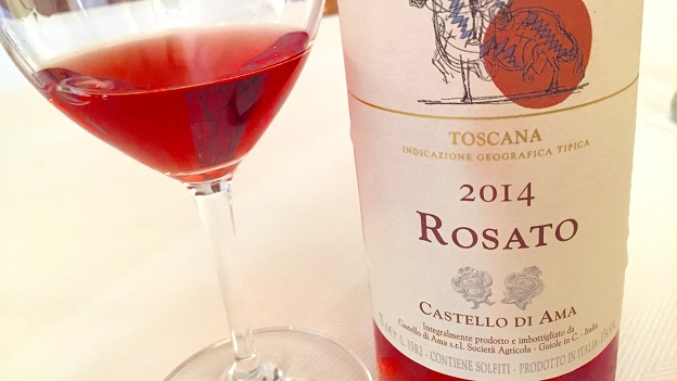 2014 Castello di Ama Rosato ($24) 90 points