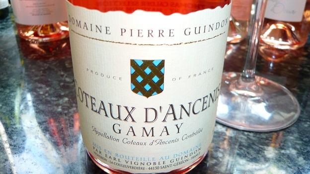 2014 Domaine Pierre Guindon Coteaux d'Ancenis Gamay Rosé ($12) 90 points