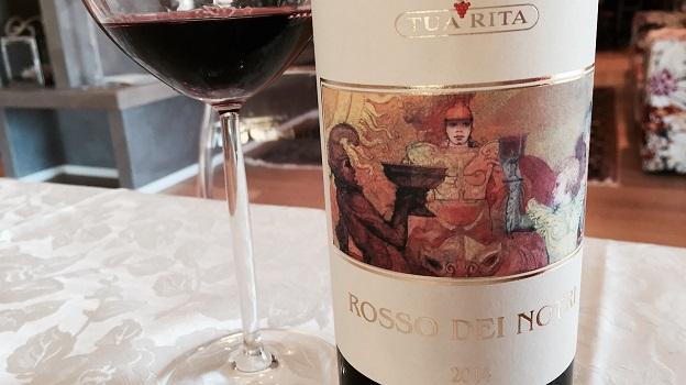 2014 Tua Rita Rosso di Notri ($20) 91 points
