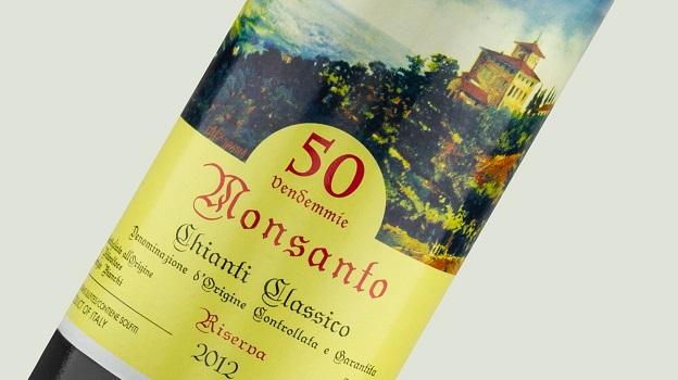 2012 Castello di Monsanto Chianti Classico Riserva 50 Vendemmie