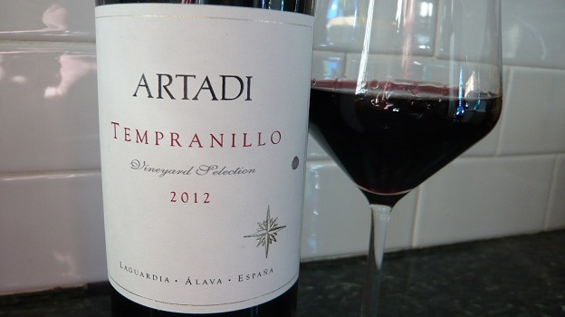2012 Artadi Tempranillo ($18) 90 points