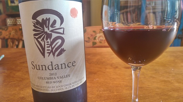2012 Soos Creek Sundance Red Wine ($20) 89 points