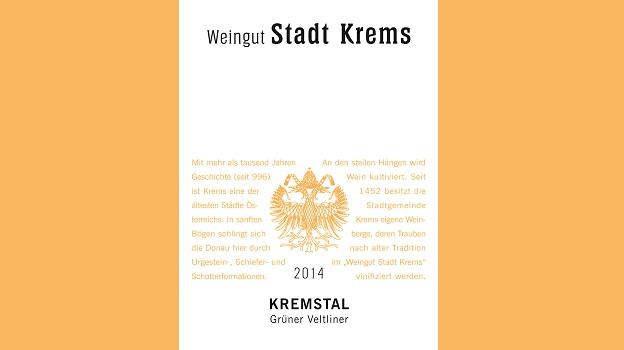 2014 Weingut Stadt Krems Grüner Veltliner Kremstal ($16) 90 points
