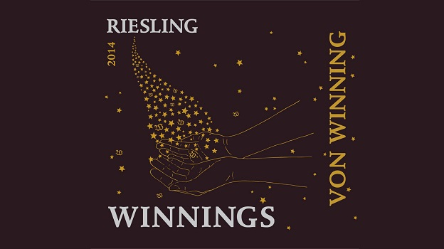 2014 Von Winning Riesling 'Winnings' ($16) 89 points