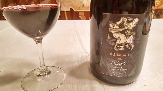 2014 Tikal Patriota Malbec-Bonarda ($20) 90 points