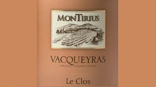 2013 Domaine Montirius Vacqueyras Le Clos ($25) 93 points