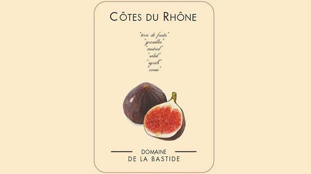 2015 Domaine de la Bastide Côtes-du-Rhône Rosé Figue ($17) 90 points