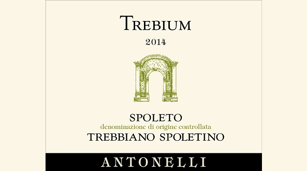 2014 Antonelli Trebbiano Spoletino Trebium ($21) 90 points