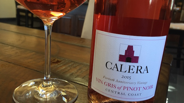 2015 Calera Vin Gris of Pinot Noir ($19) 91 points
