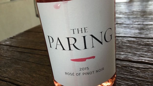 2015 The Paring Rosé of Pinot Noir ($25) 89