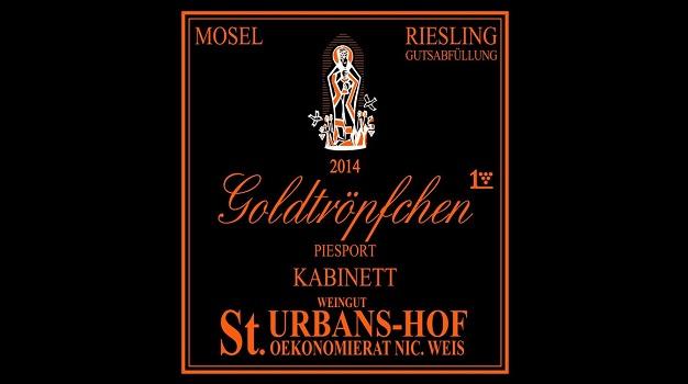 2014 Nik Weis St. Urbans-Hof Piesporter Goldtröpfchen Riesling Kabinett ($25.00) 90