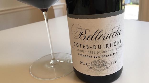 2015 Chapoutier Côtes-du-Rhône Belleruche ($15.00) 90