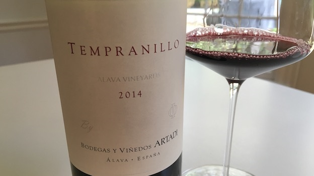 2014 Artadi Tempranillo Alava Vineyards ($20.00) 89