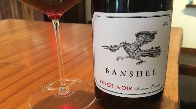 2015 Banshee Pinot Noir Sonoma County ($25.00) 90