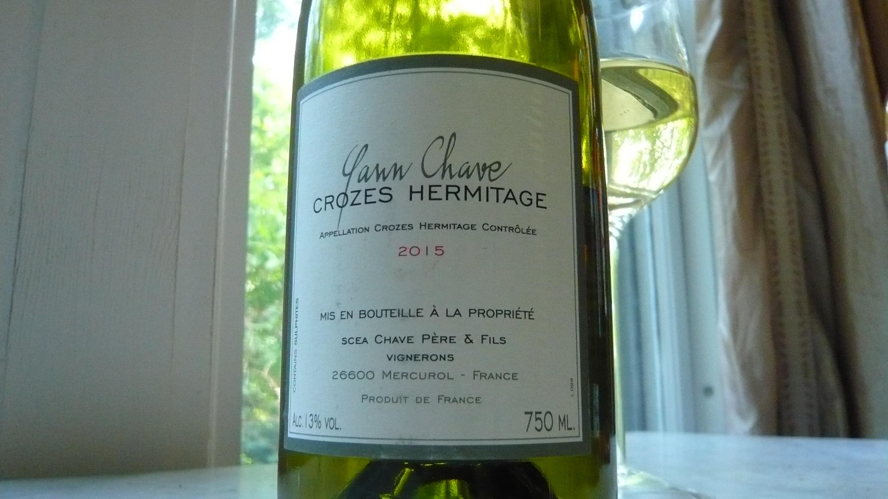 2015 Yann Chave Crozes-Hermitage Blanc (25.00) 90