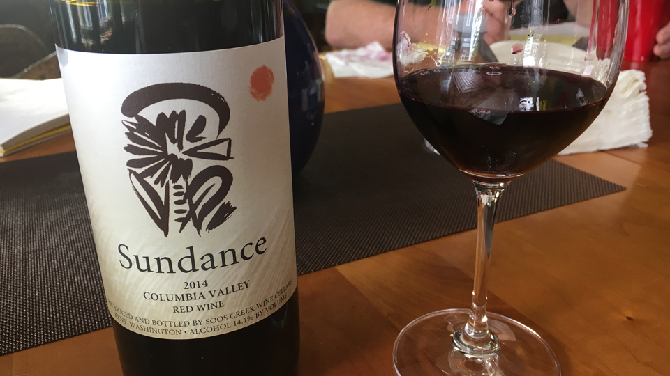 2014 Soos Creek Wine Cellars Sundance Red Wine ($20.00) 90