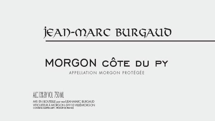 2015 Jean-Marc Burgaud Morgon Côte du Py ($21.00) 93