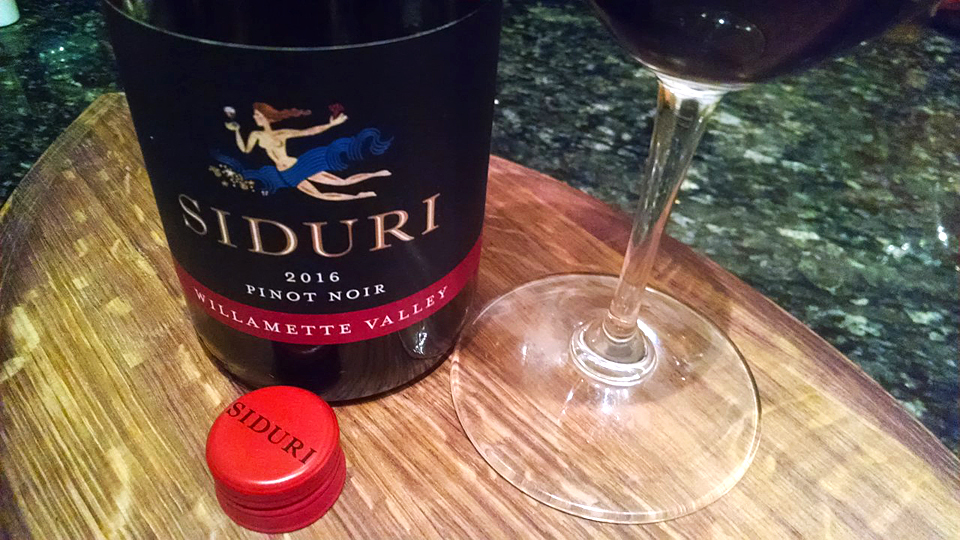 2016 Siduri Pinot Noir - Willamette Valley ($25.00) 90